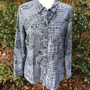 NWOT Old Navy Button Front Shirt